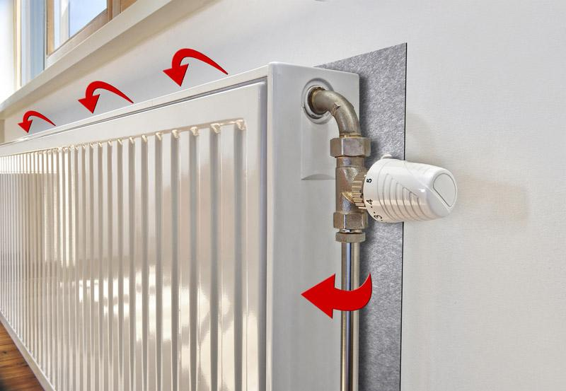 Reduce Heating Costs with Radiator Reflectors