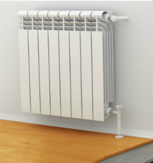 A Heat Pump Radiator designed to distribute heat from a heat pump